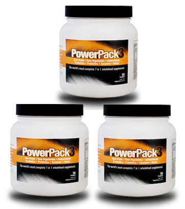 PowerPack3 - 3 Packs SAVE 25% + 60% off Shipping