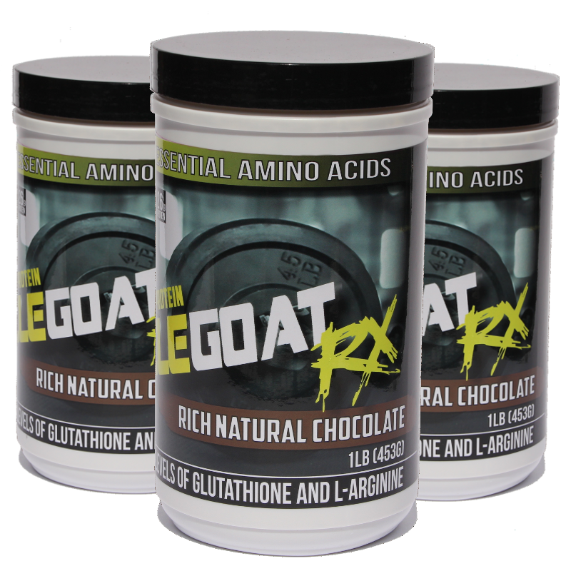 Chocolate Muscle Goat BUNDLE (3 lbs) - Save 25% + 55% off Shipping