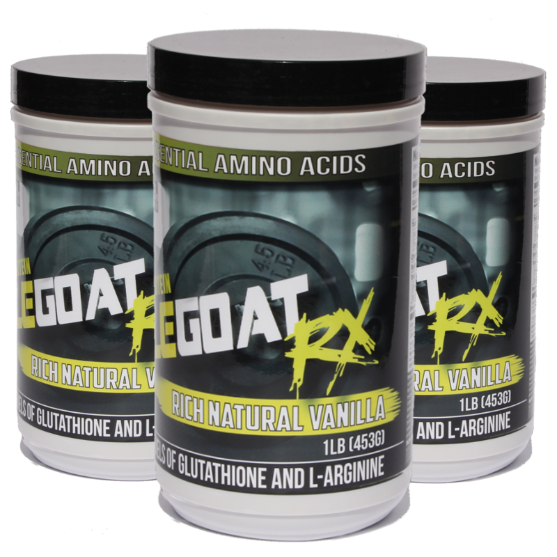 Vanilla Muscle Goat BUNDLE (3 lbs) - Save 25% + 55% off Shipping