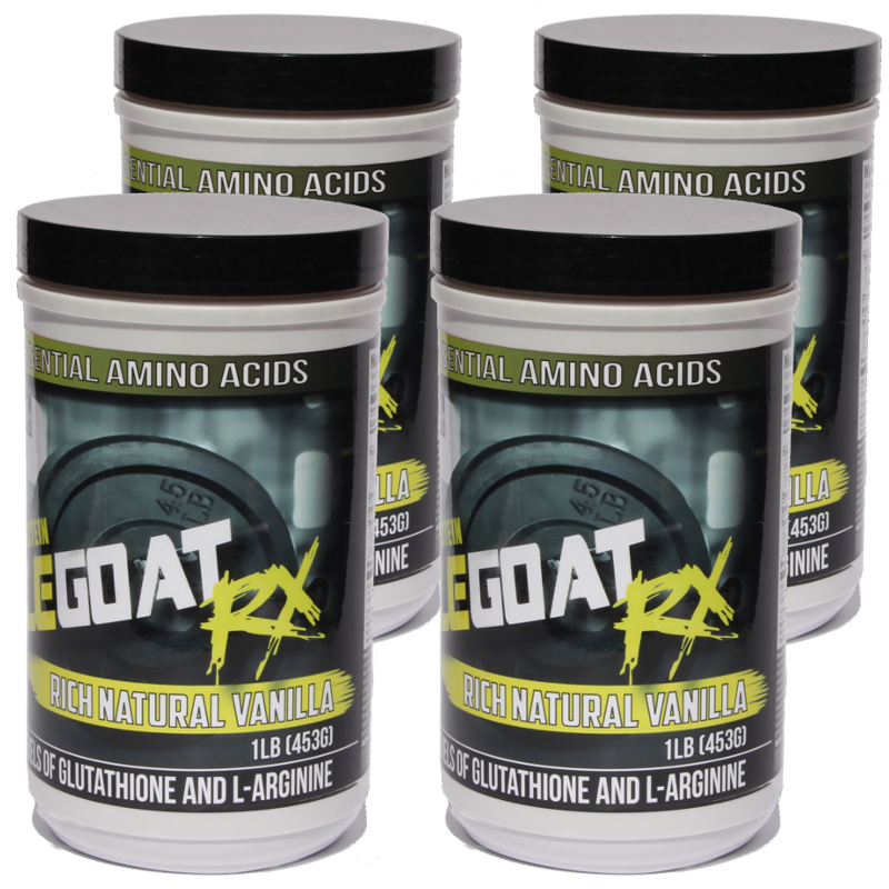 Vanilla Muscle Goat BUNDLE (4 lbs) - Save 30% + 64% off Shipping