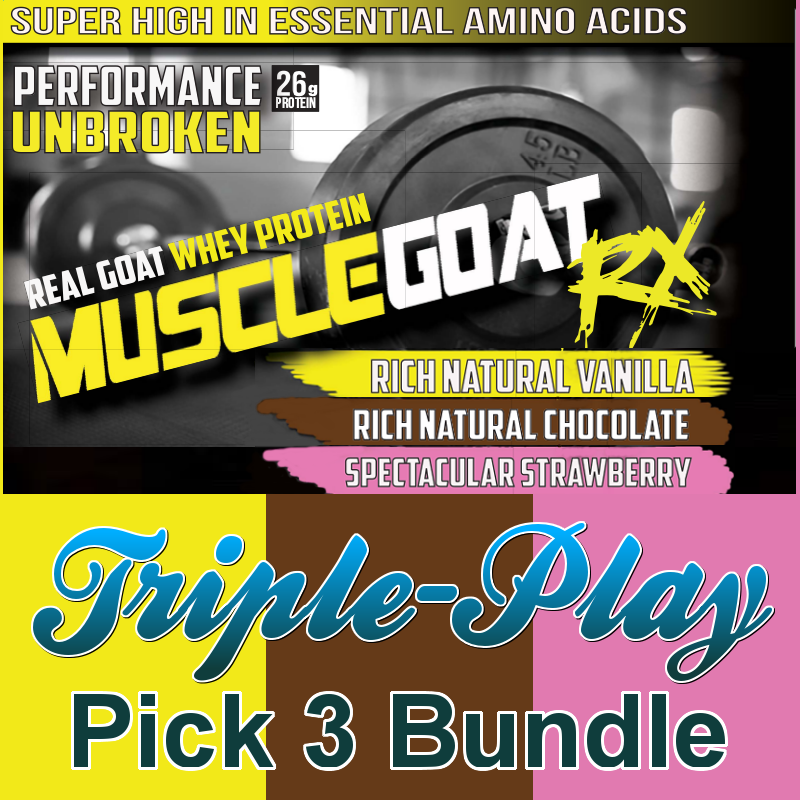 Mix & Match Triple-Play BUNDLE (3 lbs) - Pick 3 Flavors:  Save 25% + 55% off Shipping