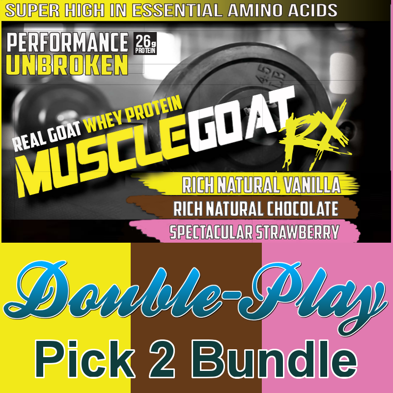 Mix & Match Double-Play BUNDLE (2 lbs) - Pick 2 Flavors:  Save 20% + 38% off Shipping