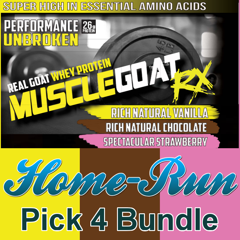 Mix & Match Home-Run BUNDLE (4 lbs) - Pick 4 Flavors:  Save 30% + 64% off Shipping